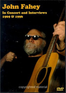 John Fahey In Concert and Interviews: 1969 & 1996
