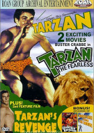 Tarzan The Fearless / Tarzans Revenge Double Feature