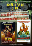 Drive-In Double Features: One Down Two To Go & Brotherhood Of Death