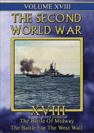 Second World War, The: Volume 18 - The Battle Of Midway / The Battle For The West Wall