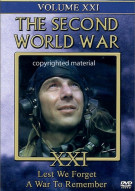 Second World War, The: Volume 21 - Lest We Forget / A War To Remember