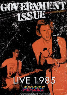 Government Issue - Live 1985: Flipside