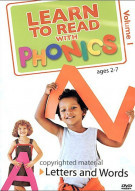 Learn To Read With Phonics: Letters And Words - Vol 1