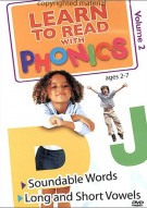Learn To Read With Phonics:  Soundable Words / Long And Short Vowels - Vol 2