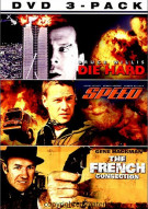 Police Action 3 Pack, The (Die Hard,  Speed,  The French Connection)