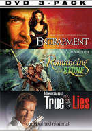 Crime 3 Pack, The (Entrapment - Romancing The Stone - True Lies)