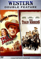 Western Double Feature: Train Robbers / Tall In The Saddle