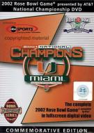 2002 Rose Bowl National Championship