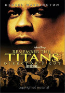 Remember The Titans: Directors Cut