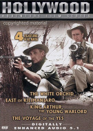 Hollywood Adventure Film Series: White Orchid / East Of Kilimanjaro / King Arthur Young Warlord / Voyage Of Yes
