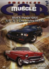 American Muscle Car: Buick Regal GNX / 55 - 57 Chevrolet Bel Air