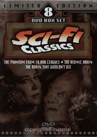 Sci Fi Classics: Limited Edition 8 DVD Box Set