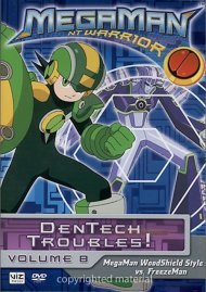 Megaman NT Warrior: Volume 8 - Dentech Troubles