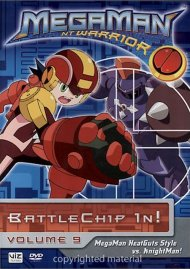 Megaman NT Warrior: Volume 9 - Battlechip In!