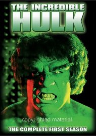Incredible Hulk, The: The Complete First Season