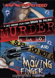 Murder A La Mod / The Moving Finger (Double Feature)