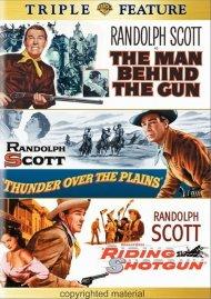 Man Behind The Gun, The / Thunder Over The Plains / Riding Shotgun (Triple Feature)