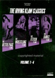 Irving Klaw Classics, The: Volume 1 - 4