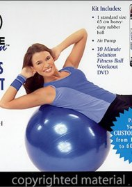 10 Minute Solution: Fitness Ball Kit