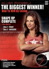 Jillian Michaels The Biggest Winner!: Shape Up Complete