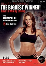 Jillian Michaels The Biggest Winner!: The Complete Box Workout Box Set