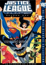 Justice League Unlimited: The Complete Seasons 1 & 2