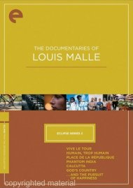 Documentaries Of Louis Malle, The: Eclipse From The Criterion Collection