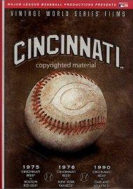 Vintage World Series Films: Cincinnati Reds