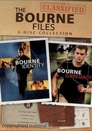 Bourne Files, The: 3-Disc Collection