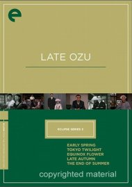 Late Ozu: Eclipse From The Criterion Collection