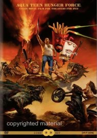 Aqua Teen Hunger  Colon Movie Film For Theaters For DVD