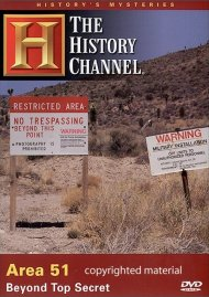 Historys Mysteries: Area 51 - Beyond Top Secret
