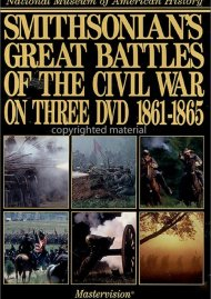 Smithsonians Great Battles Of The Civil War (3 DVD Set)