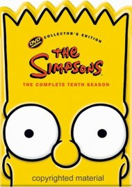 Simpsons, The: The Complete Tenth Season (Bart Collectible Packaging)