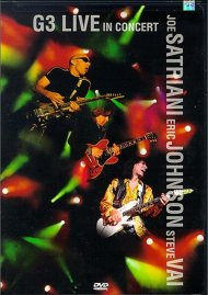 G3: Live In Concert - Joe Satriani, Eric Johnson, Steve Vai