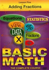 Basic Math: Adding Fractions