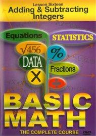 Basic Math: Adding & Subtracting Integers