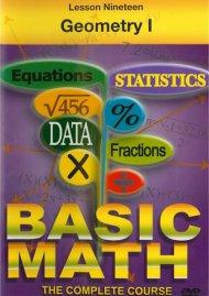 Basic Math: Geometry I