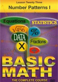 Basic Math: Number Patterns I