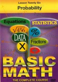 Basic Math: Probability