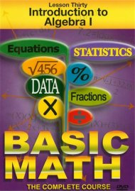Basic Math: Introduction To Algebra I