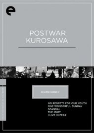 Postwar Kurosawa: Eclipse From The Criterion Collection
