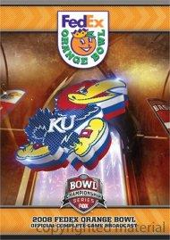 2008 Orange Bowl: Kansas Vs. Virginia Tech