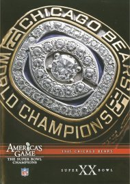 NFL Americas Game: Chicago Bears Super Bowl XX