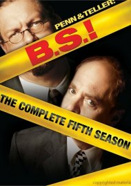 Penn & Teller: BS! The Complete Season 5 - Censored