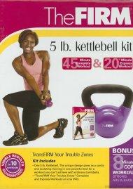 Firm, The: 5 lb. Kettlebell Kit