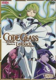 Code Geass Lelouch Of The Rebellion: Part 1