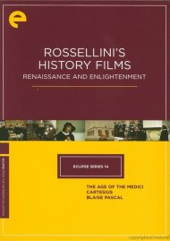 Rossellinis History Films: Renaissance And Enlightenment - Eclipse From The Criterion Collection