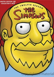 Simpsons, The: The Twelfth Season (Comic Book Guy Collectible Packaging)
