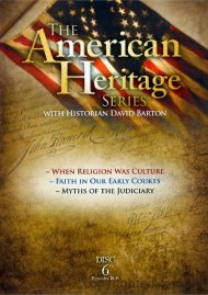 American Heritage Series: When Religion Was Culture / Faith In Our Early Courts / Myths Of The Judiciary